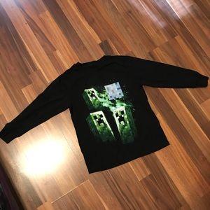 Boys Mojang Minecraft Shirt size M Shirt